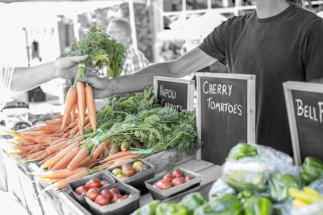 peluang usaha rumahan - membuka warung sayur